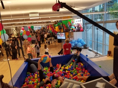 Ball Pit Photo Experience